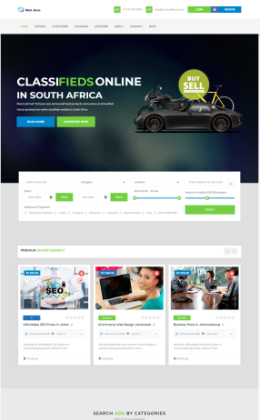 eclassified classifieds directory South Africa