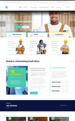 Small business web design Johannesburg