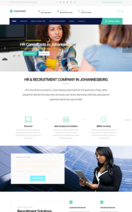 recruitment web design Johannesburg